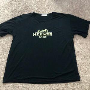 Vintage Bootleg Hermés T-Shirt Size Large